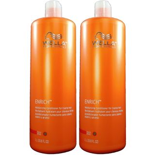 Wella Enrich 33.8-ounce Shampoo and Conditioner for Coarse Hair