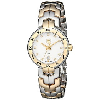 Tag Heuer Women's WAT2351.BB0957 Link Round Two-tone Gold a Bracelet Watch