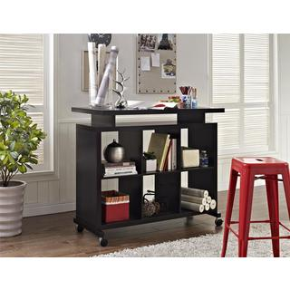 Ameriwood Home Lincoln Espresso Multipurpose Standing Desk