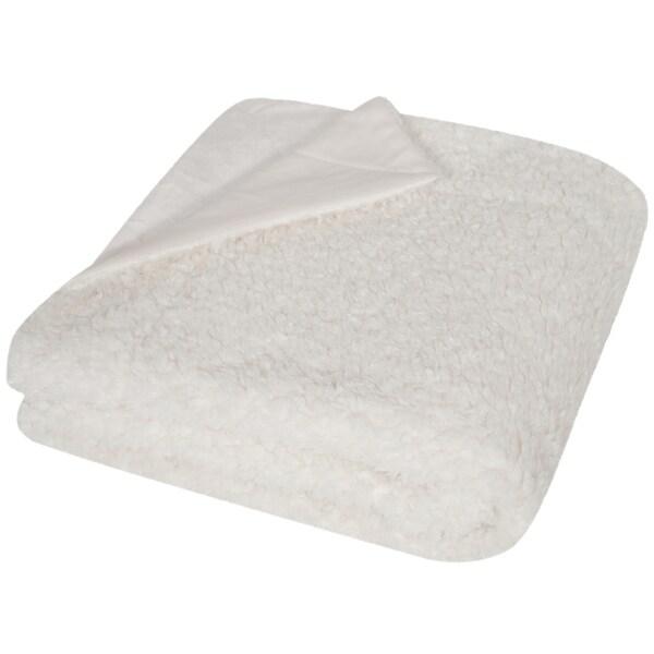 Safavieh Marshmallow Creme Throw (4' 2 x 5')