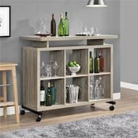 Ameriwood Home Lincoln Sonoma Oak Multipurpose Standing Desk