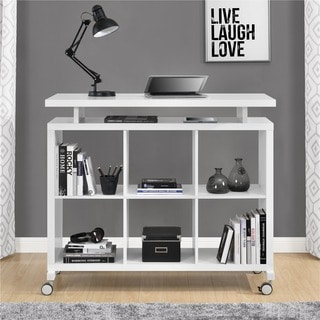 Ameriwood Home Lincoln White Multipurpose Standing Desk