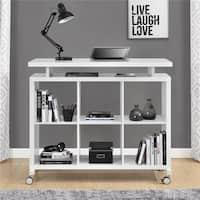 Ameriwood Home Lincoln White Multipurpose Standing Desk