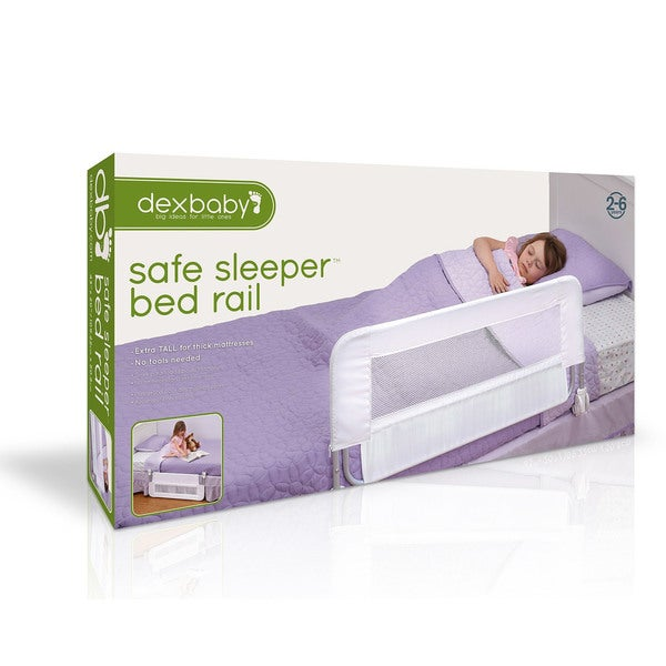 White DEX Products INC dexbaby Safe Sleeper Convertible Crib Bed Rail