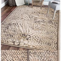 Admire Home Living Gallina Animal Print Area rug (2'2 x 7'7) - 2'2 x 7'7