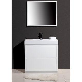 KubeBath Bliss 36-inch Single-sink Bathroom Vanity (3 options available)