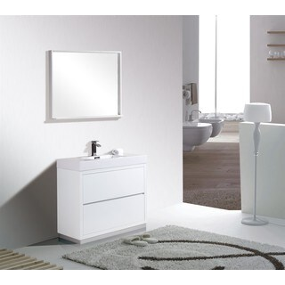 KubeBath Single-sink Bathroom Vanity