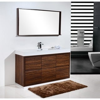 KubeBath Bliss 59-inch Single Sink Bathroom Vanity (2 options available)