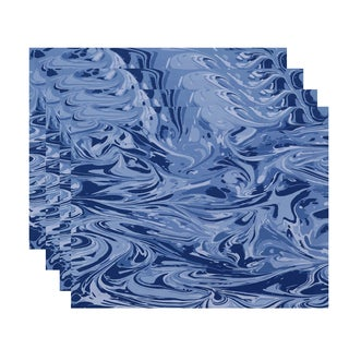 18 x 14-inch Mlange Geometric Print Placemat (Set of 4)