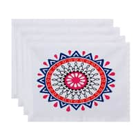 18 x 14-inch Mod Geometric Print Placemat (Set of 4)