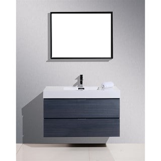 KubeBath BSL40 40-inch Bliss Single Sink Bathroom Vanity