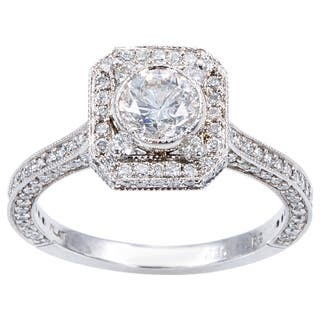 Platinum 2ct TDW Antique Engagement Ring (H-I, I1-I2)|https://ak1.ostkcdn.com/images/products/11916087/P18807473.jpg?impolicy=medium