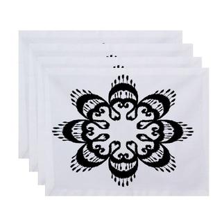 18 x 14-inch Ikat Mandala Geometric Print Placemat (Set of 4)