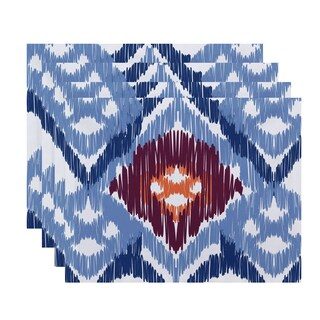 18 x 14-inch Original Geometric Print Placemat (Set of 4)
