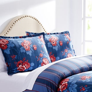 City Scene Ashley Floral Cotton Comforter Set