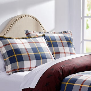 City Scene Winston Plaid Cotton Comforter Set