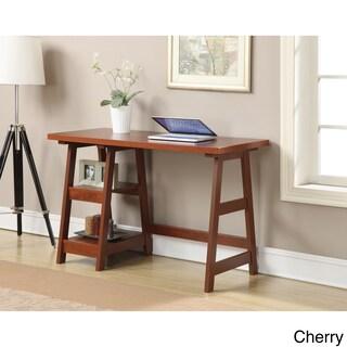 Clay Alder Home Logan Wood Desk (Option: Cherry)