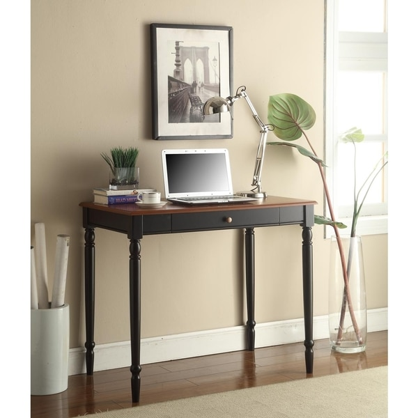 Convenience Concepts Rubberwood Veneer French Country Desk