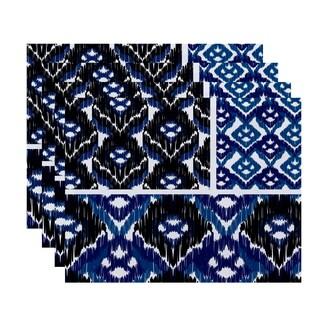 18 x 14-inch Free Spirit Geometric Print Placemat (Set of 4)