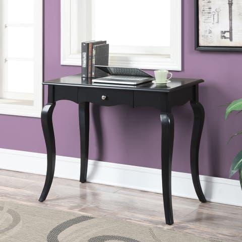 Porch & Den Carver Solid-colored Wood Veneer 36-inch French Provincial Desk