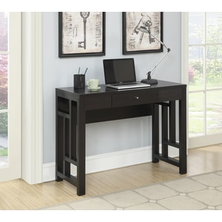 Convenience Concepts Newport Laurel Espresso Wood Desk