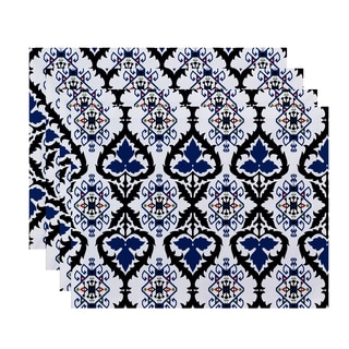 18 x 14-inch Bombay Geometric Print Placemat (Set of 4)