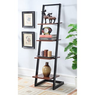 Porch & Den Galvez 4-tier Ladder Bookshelf
