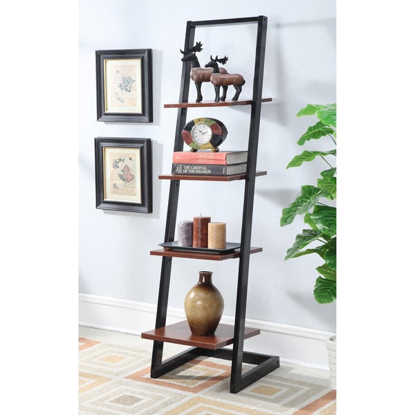 Porch & Den Bywater Galvez 4-tier Ladder Bookshelf