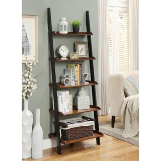 Laurel Creek Charley Wooden Bookshelf Ladder