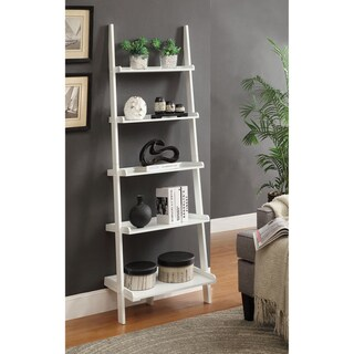 Porch & Den Jon Wooden Bookshelf Ladder