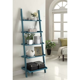 Link to Porch & Den Jon Wooden Bookshelf Ladder Similar Items in Office Storage & Organization