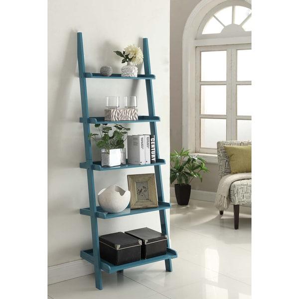 Porch & Den Jon Wooden Bookshelf Ladder. Opens flyout.