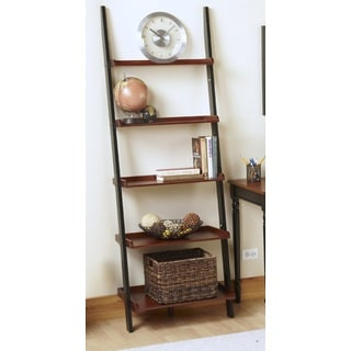 Convenience Concepts French Country Wood/ Veneer Bookshelf Ladder