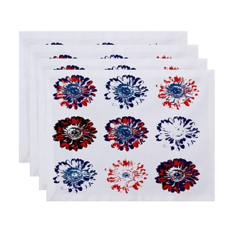 18 x 14-inch Gypsy Floral Floral Print Placemat (Set of 4)