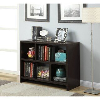 Link to Porch & Den Franklin Console Bookcase Similar Items in Bookshelves & Bookcases