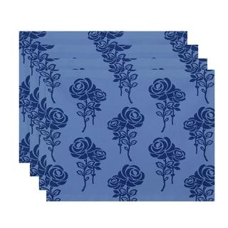 18 x 14-inch Carmen Floral Print Placemat (Set of 4)