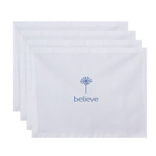 18 x 14-inch Make a Wish Word Print Placemat (Set of 4)