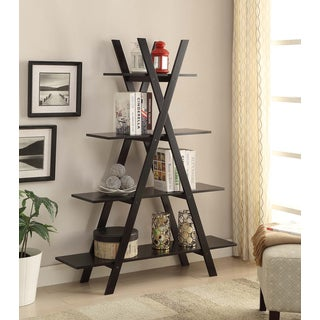 Convenience Concepts Oxford A-frame Bookshelf