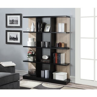 Convenience Concepts Key West Off-white Finish Wood 4 Tier Bookcase