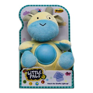 Winfun Patch the Giraffe Multicolored Fabric Light-Up Toy