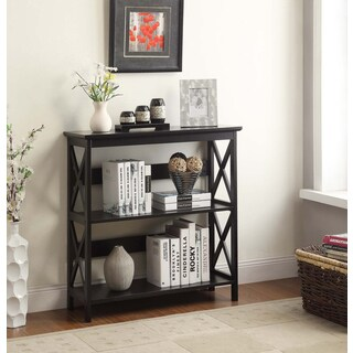 Convenience Concepts Oxford 3-tier Bookcase (Option: Black)