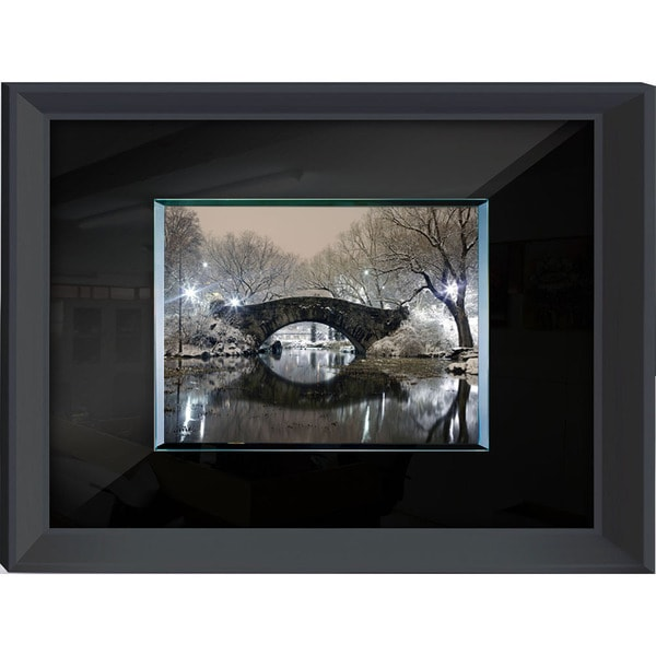 Benjamin Parker 'Bridge' Tempered Glass-on-Glass Wall Art