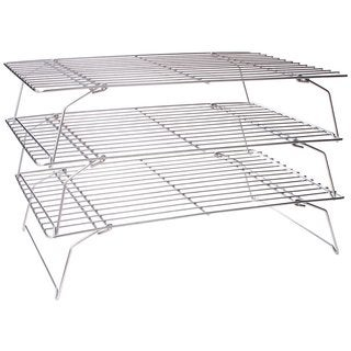 Fox Run Metal Set of 3 Stackable Cooling Racks