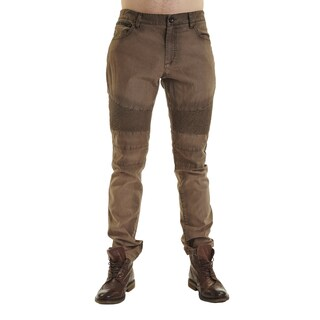Excelled Men's Peached Cotton Moto Pant
