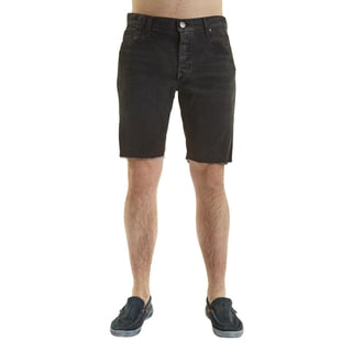 Excelled Men's Cotton/Spandex Distressed Cut-off Short