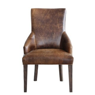 Lazzaro Leather Patagonia Dining Arm Chair (Set of 2)