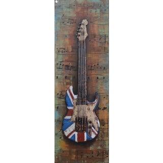 Benjamin Parker 'Electric UK' 47-inch Metal Wall Art