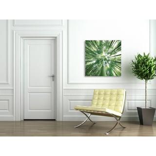 Benjamin Parker 'Bamboo' Tempered Glass Art