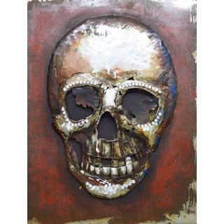 Benjamin Parker 'Memento Mori' 39-inch Metal Wall Art