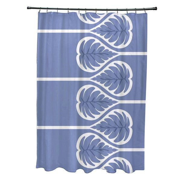 71 x 74-inch Fern 1 Floral Print Shower Curtain